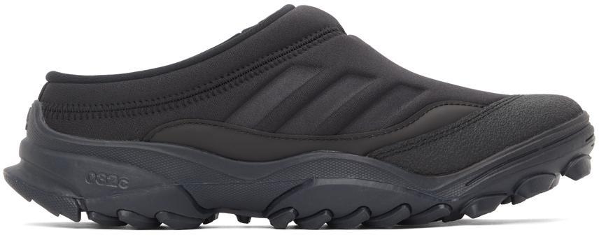 032c Black adidas Originals Edition Jersey GSG Mule Sneakers