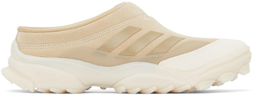 032c Beige adidas Originals Edition Suede GSG Mule Sneakers