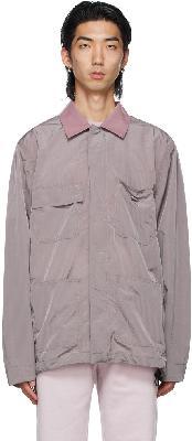 032c Purple Heat Sensitive Worker Jacket