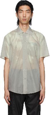 032c Grey Heat Sensitive Short Sleeve Shirt