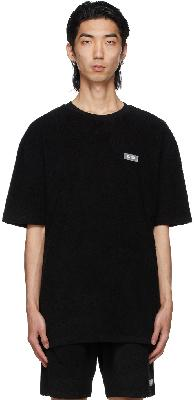 032c Black Terrycloth Topos T-Shirt