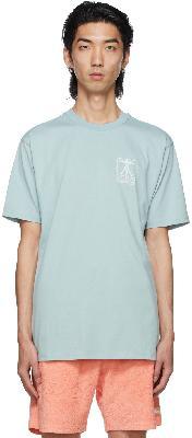 032c Blue Vitruv T-Shirt