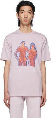 032c Purple 'Heat Mode' T-Shirt