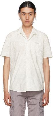 032c White & Grey Topos Short Sleeve Shirt