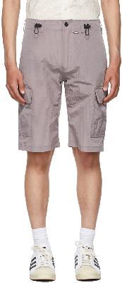 032c Purple Heat Sensitive Cargo Shorts