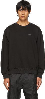 032c Black Heatwave 'Système de la Mode' Sweatshirt