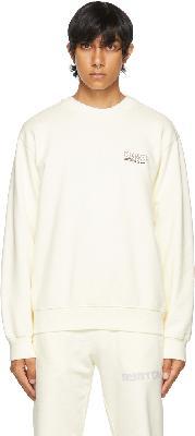 032c Off-White Glow-In-The-Dark 'Système de la Mode' Sweatshirt