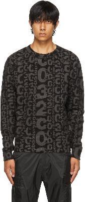 032c Black Heat Sensitive Système de la Mode Sweater
