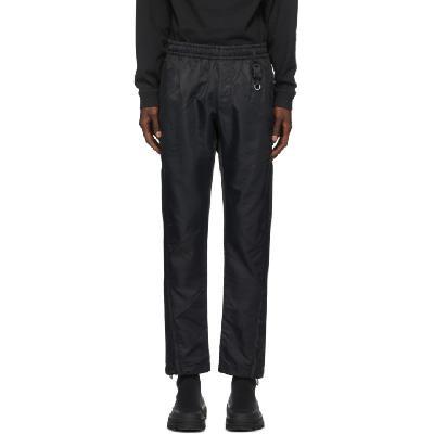 1017 ALYX 9SM Black Buckle Lounge Pants