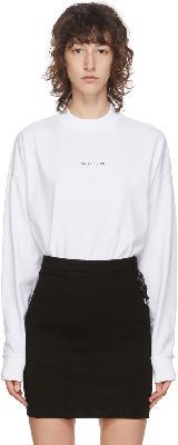 1017 ALYX 9SM White Logo Long Sleeve T-Shirt