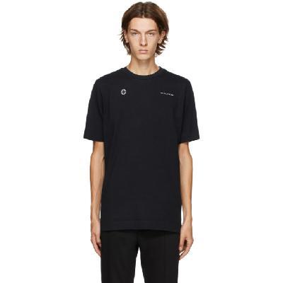 1017 ALYX 9SM Black Double Logo T-Shirt