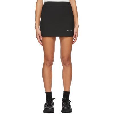 1017 ALYX 9SM Black Formal Tailoring Miniskirt