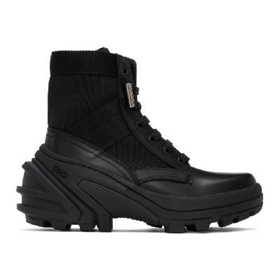 1017 ALYX 9SM Black Fuoripista Lace-Up Boots