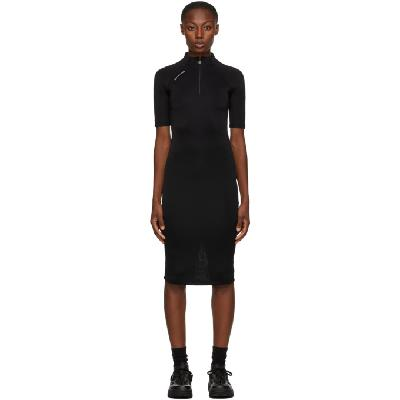 1017 ALYX 9SM Black Half-Zip Dress