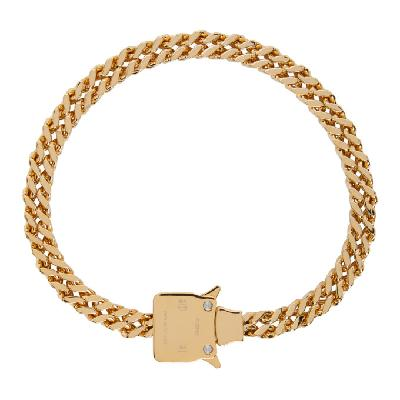 1017 ALYX 9SM Gold Cubix Chain Necklace