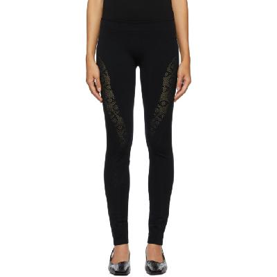 1017 ALYX 9SM Black 'A' Knit Leggings