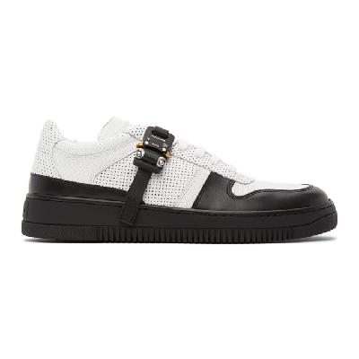 1017 ALYX 9SM White & Black Buckle Sneakers
