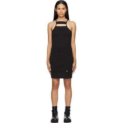 1017 ALYX 9SM Black Ribbed Tank Dress