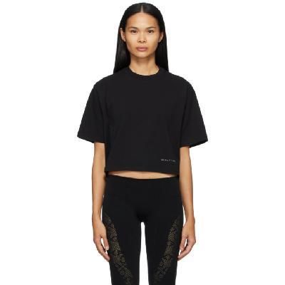 1017 ALYX 9SM Black Cropped Logo T-Shirt