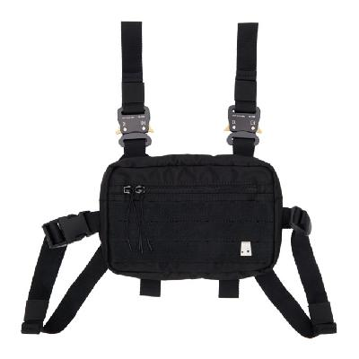 1017 ALYX 9SM Black Classic Mini Chest Rig Pouch