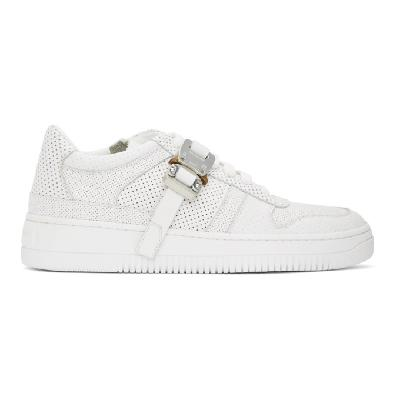 1017 ALYX 9SM White Buckle Sneakers