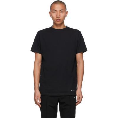 1017 ALYX 9SM Three-Pack Black Jersey T-Shirts