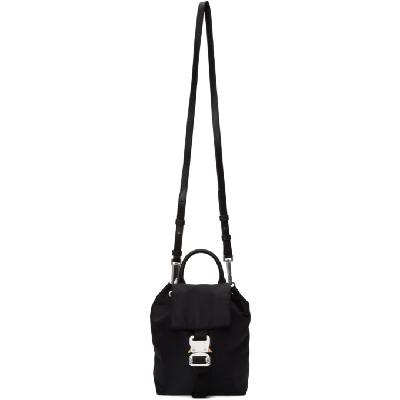 1017 ALYX 9SM Black Re-Nylon Multi Bag Backpack