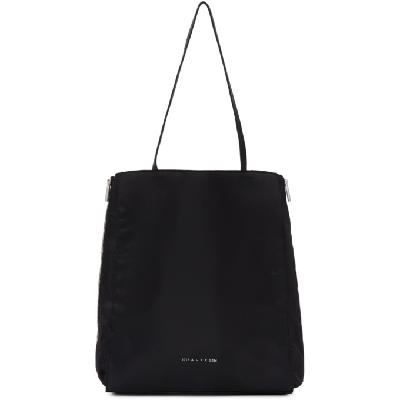 1017 ALYX 9SM Black Re-Nylon Shopper Tote