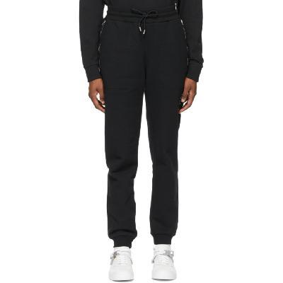 1017 ALYX 9SM Black Baggy Visual Lounge Pants