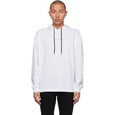 1017 ALYX 9SM White Visual Tee Hoodie
