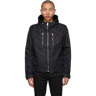 1017 ALYX 9SM Black Windbreaker Jacket