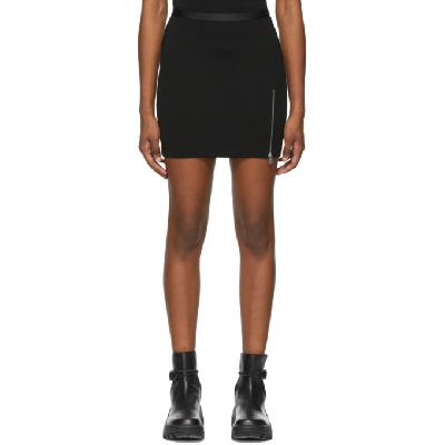 1017 ALYX 9SM Black Logo Waistband Sport Miniskirt