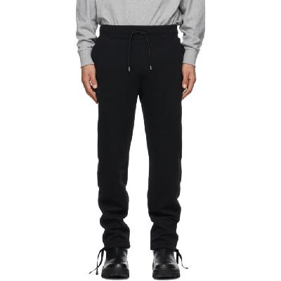 1017 ALYX 9SM Black Fleece Visual Lounge Pants