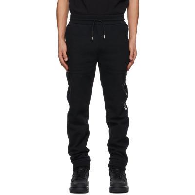 1017 ALYX 9SM Black Visual Lounge Pants