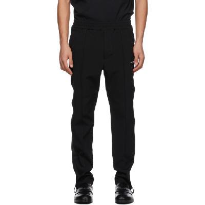 1017 ALYX 9SM Black Pinched Seam Track Pants