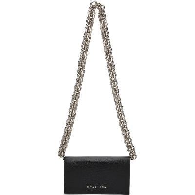 1017 ALYX 9SM Black Toad Giulia Chain Bag