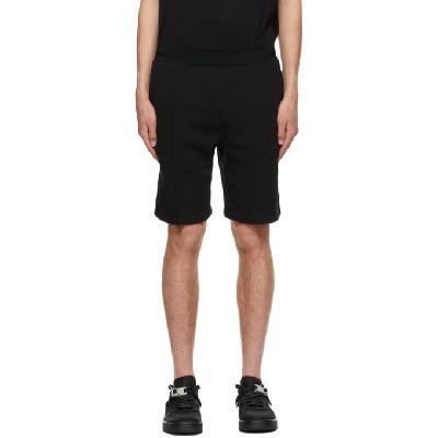 1017 ALYX 9SM Black Double Logo Shorts