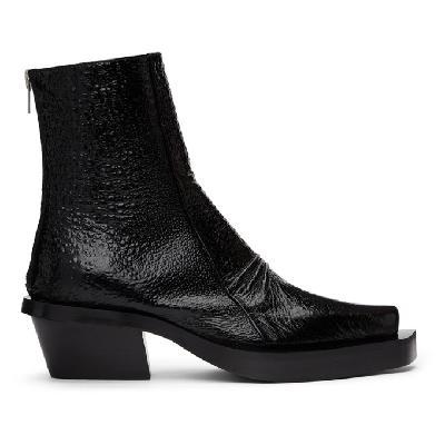 1017 ALYX 9SM Black Toad Leone Boots