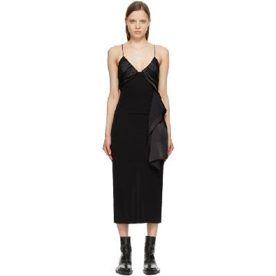 1017 ALYX 9SM Black Foulard Formal Dress