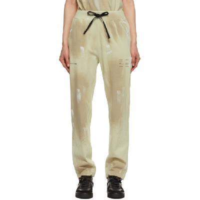 1017 ALYX 9SM Beige Printed Lounge Pants