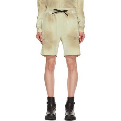 1017 ALYX 9SM Beige Printed Shorts