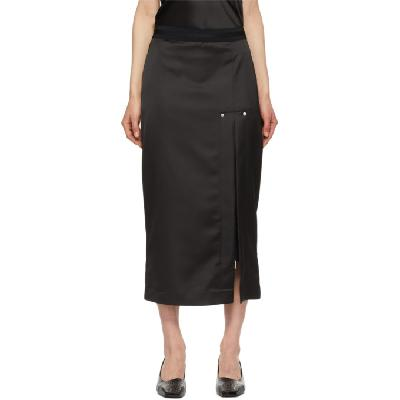 1017 ALYX 9SM Black Satin Skirt
