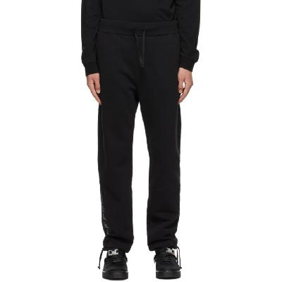 1017 ALYX 9SM Black Mirrored Logo Lounge Pants