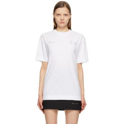 1017 ALYX 9SM White Insert Double Logo T-Shirt