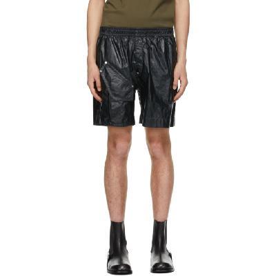 1017 ALYX 9SM Black Tailoring Cargo Shorts
