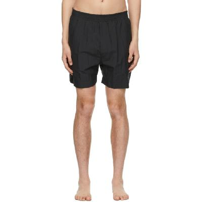 1017 ALYX 9SM Black Taffeta Swim Shorts