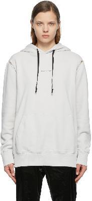 1017 ALYX 9SM Off-White Insert Logo Print Hoodie