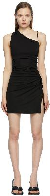 1017 ALYX 9SM Black Draped Mini Dress