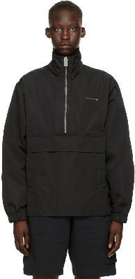 1017 ALYX 9SM Black Track Windbreaker Jacket