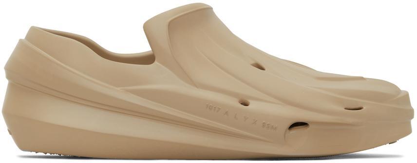 1017 ALYX 9SM SSENSE Exclusive Beige Mono Slip-On Sneakers